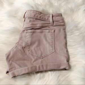 Mossimo Supply Co. Shorts - Mossimo Midi Jean Shorts size 0/25R Blush Pink 4""